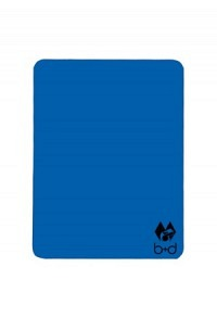 Blue warning card 120 x 90mm
