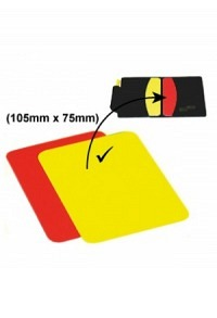 Yellow/Red card, 105x75mm (Fits into m..