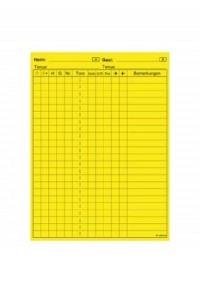 Referee note sheet,yellow, adhesive, C..