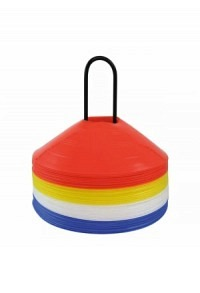 Disc cone set with holder