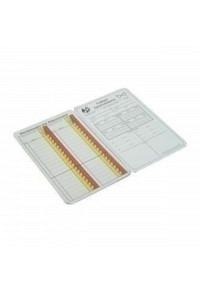 Referee note sheet, carton (german)